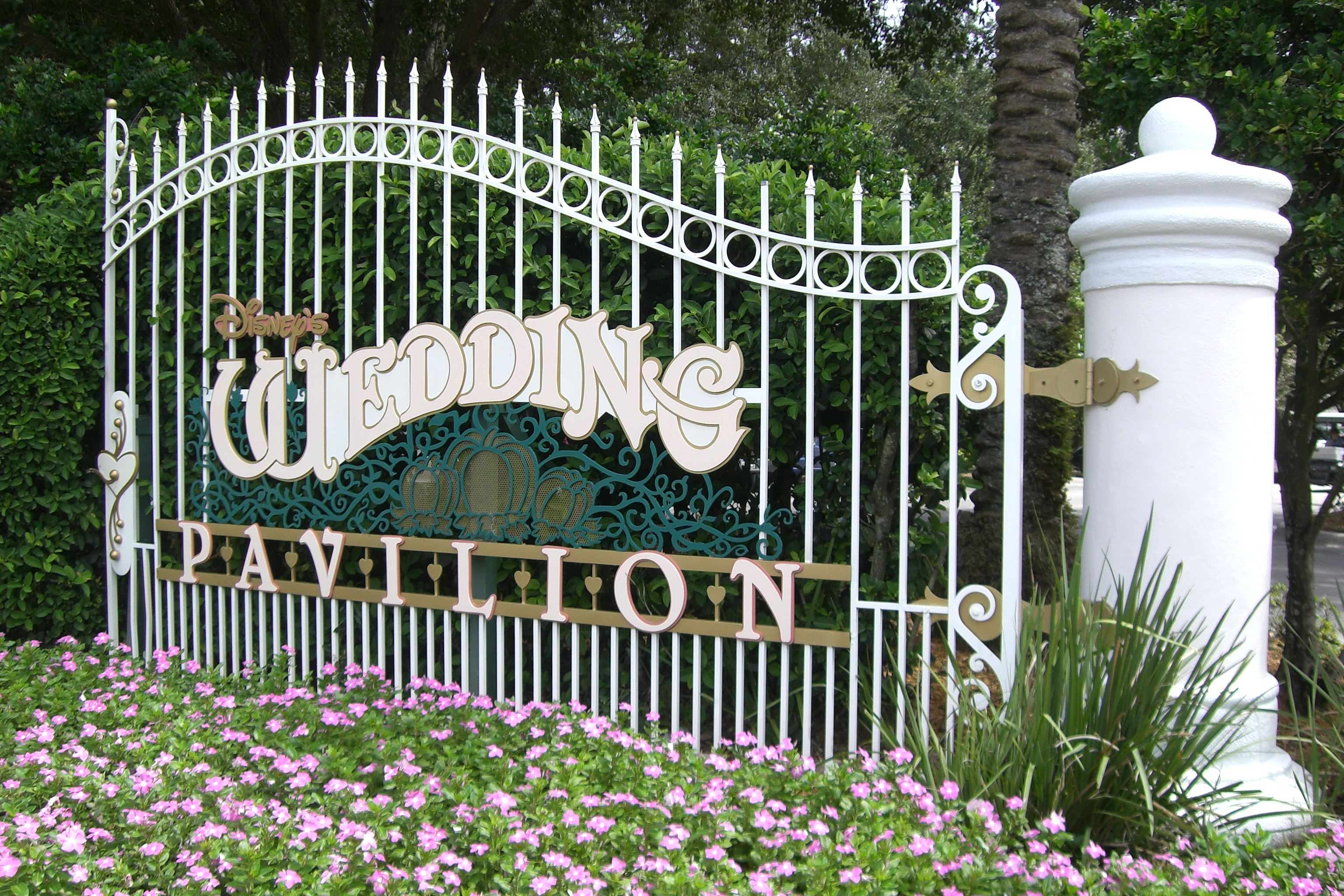 Disneys Wedding Pavilion Is On Its Own Island And Provides A Perfect Indoor Ceremony Site Not To Mention The