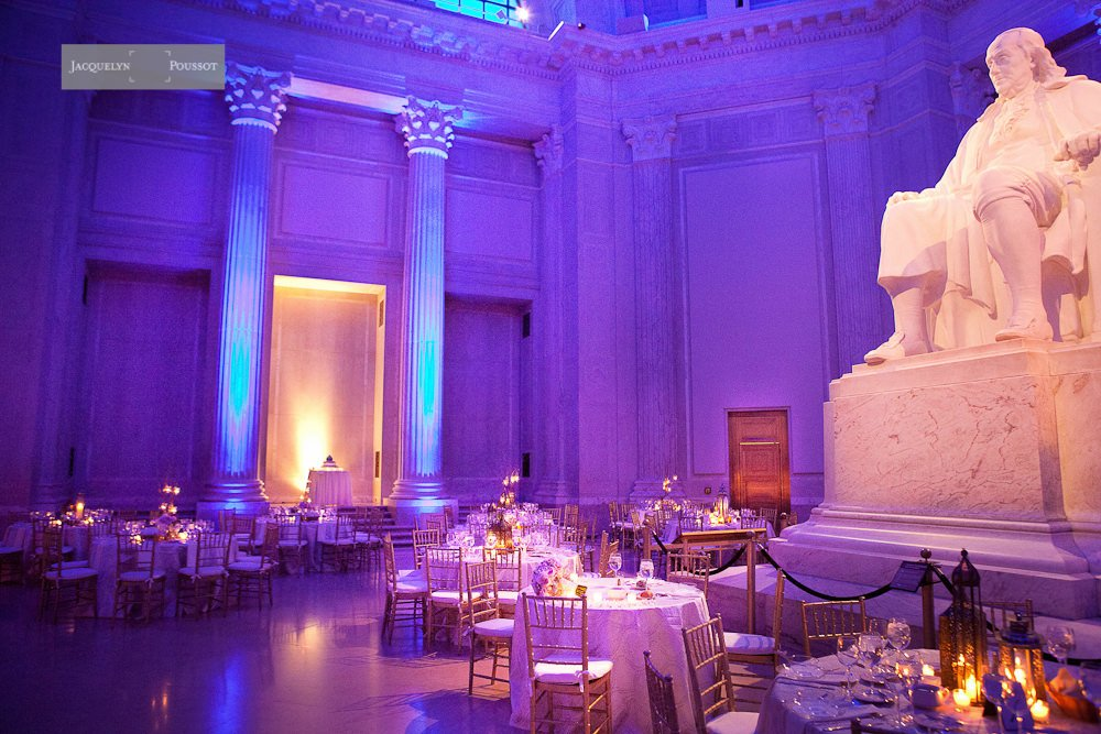 Franklin Institute Wedding