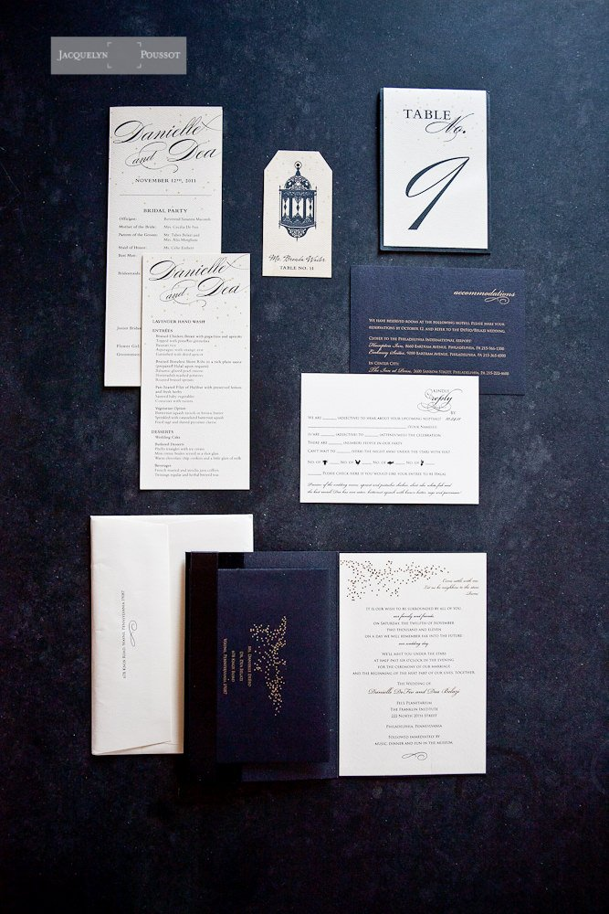 Franklin Institute Wedding