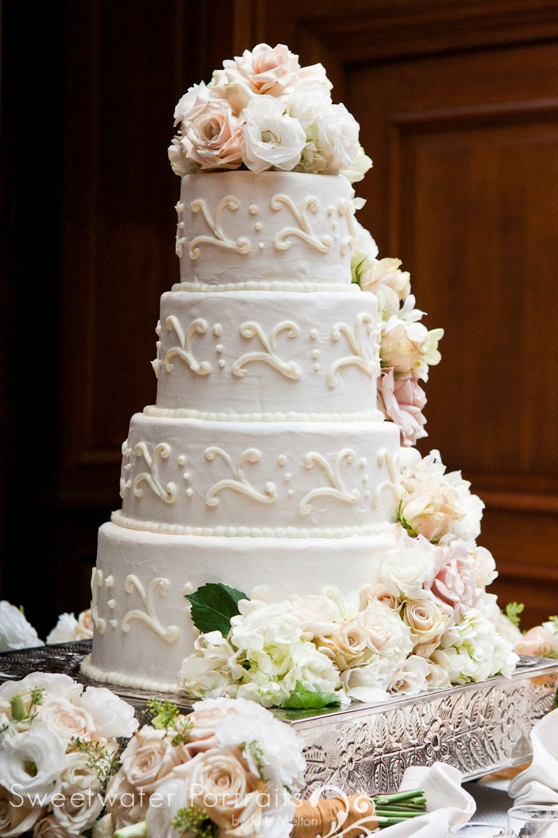 Union League Wedding Cake
